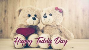 Happy Teddy Day Wishes Couple