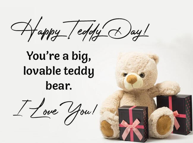 Happy Teddy Day Wishes Gift