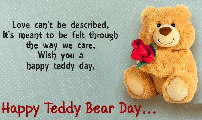 Happy Teddy Day Wishes Messages