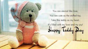Happy Teddy Day Wishes Status